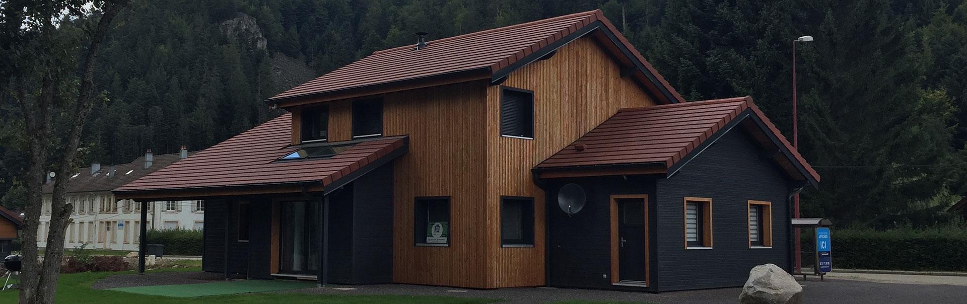 Maison Ossature Bois Vosges plus que pro
